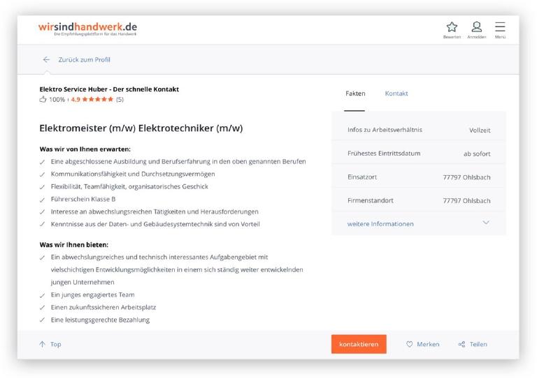 Stellenangebote Ihre Online - Stellenanzeige
